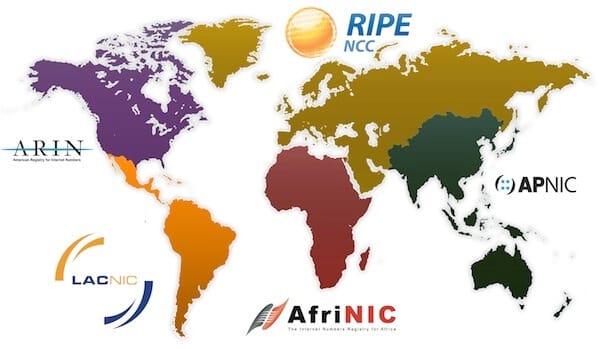RIR MAPS