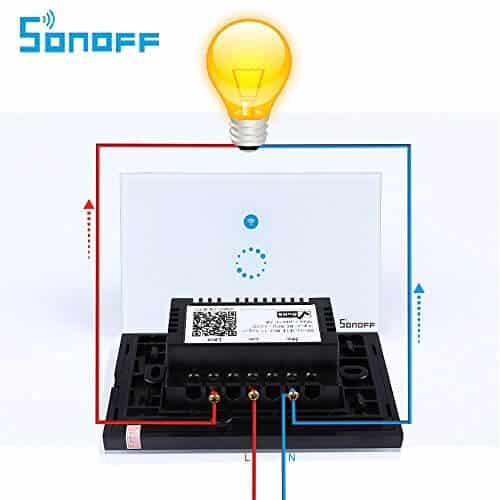 Instalacion Sonoff touch